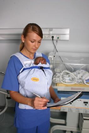 nosilka za novorojenčke