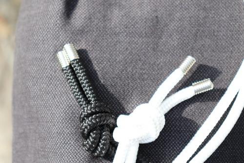 Ročno tkan nahrbtnik AceBag - Simply The Black