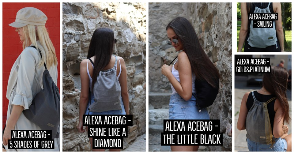Alexa AceBag modni nahrbtniki - Must-have! 2