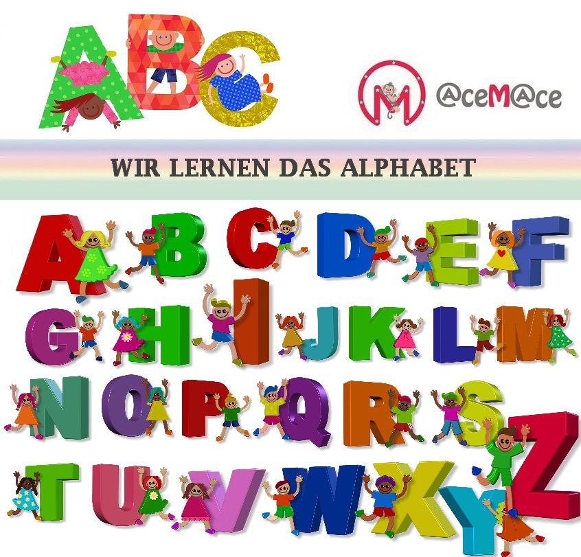 Nemščina za otroke - Abeceda