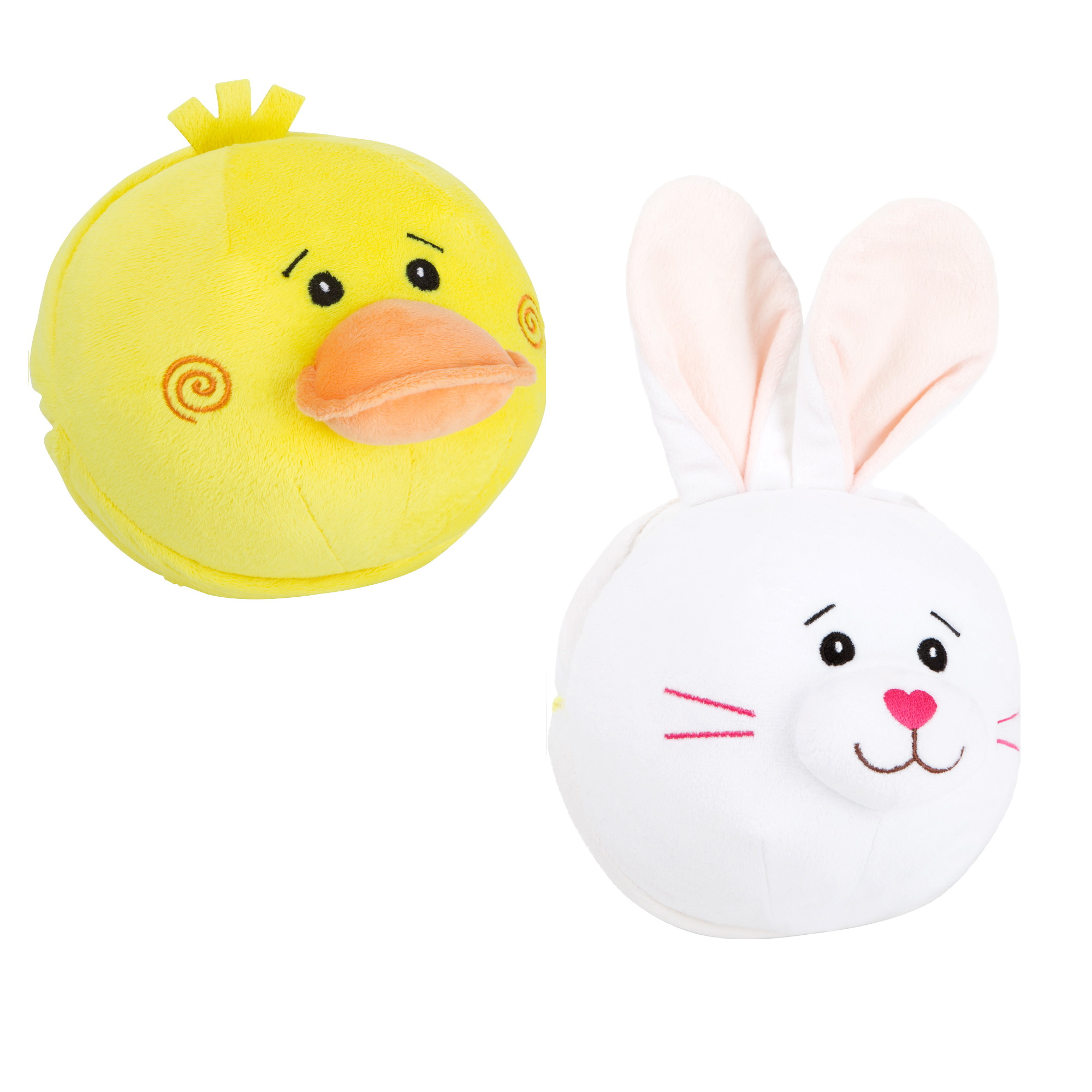 Žoga zajček račka 2 v 1