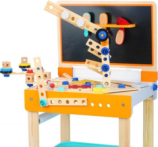 Lesena delovna miza in risalna miza 2 v 1