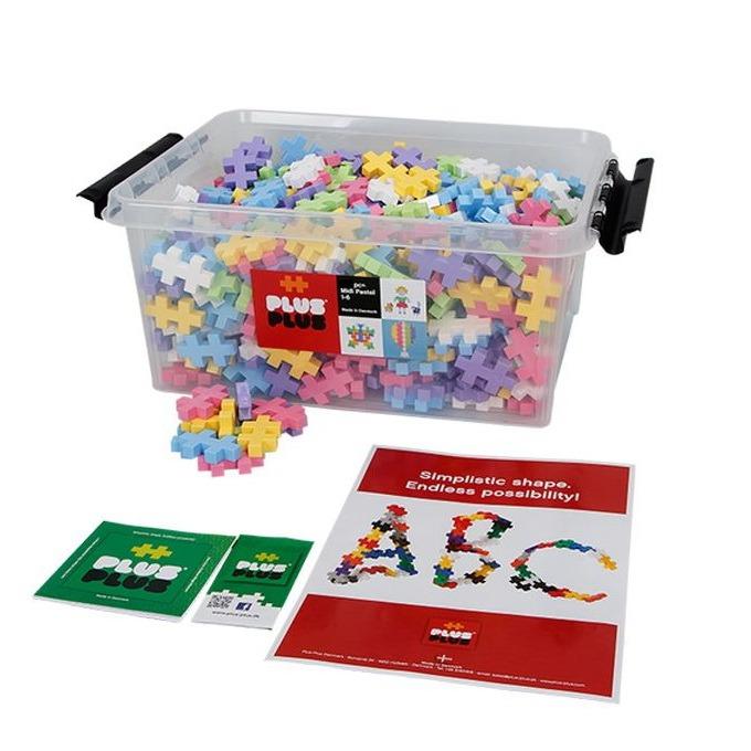 Kocke v zaboju, 400 kosov, pastelne barve
