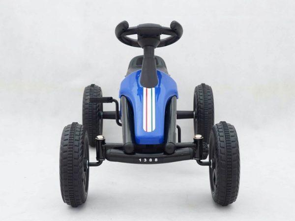 Avto na pedala, Go-kart Drzni, moder