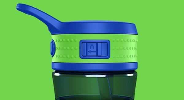Steklenica EEN modra