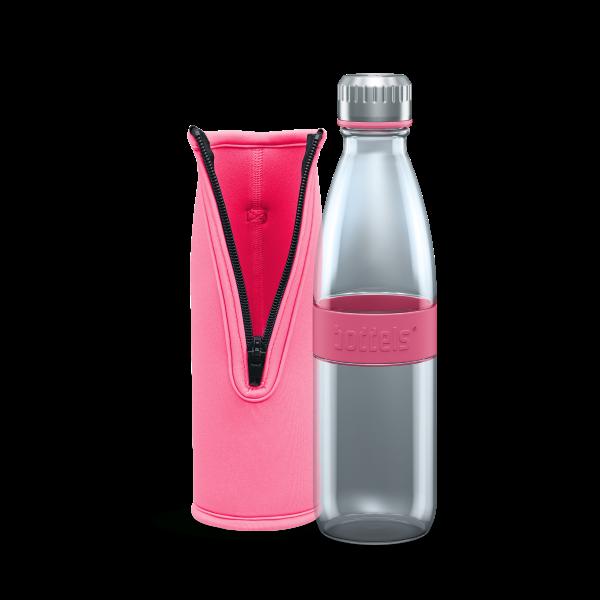 Steklenica Dree, 650 ml, roza
