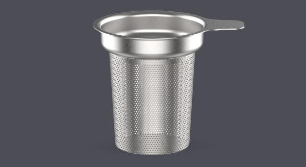 Skodelica za čaj, 380 ml, siv